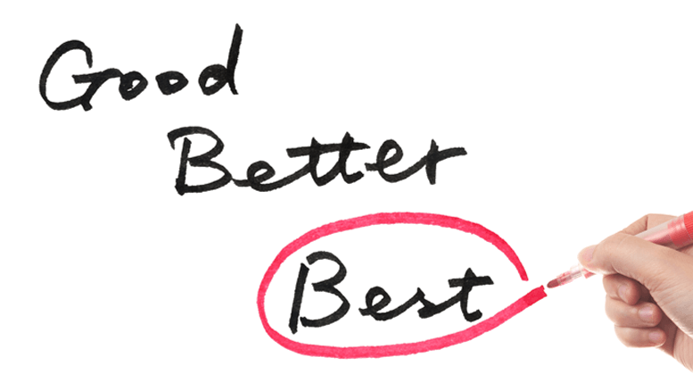 Good-Better-Best