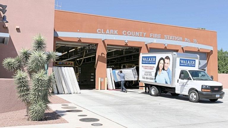 Walker Furniture Truck