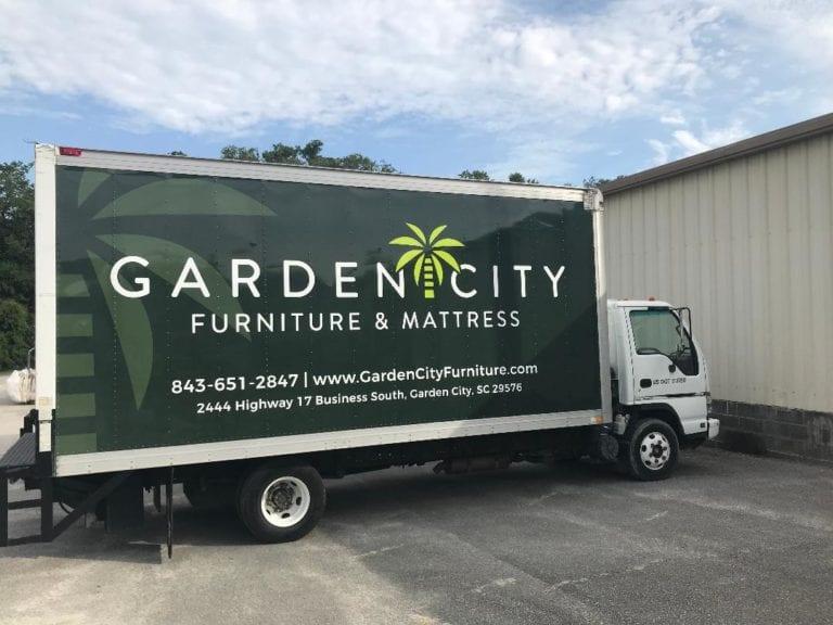 Garden City Furniture & Mattress Delivery Truck