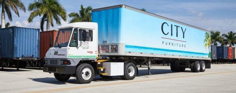 City Furniture semi-truck
