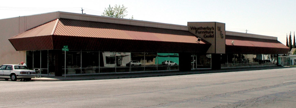 Weatherby's Furniture in Bakersfield, Calif., is closing its doors after 98 years in business. Owners Robert and Trish Weathersby are having a retirement sale.