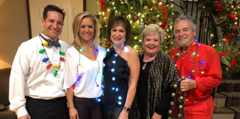 Photo shows the Spiller family singers